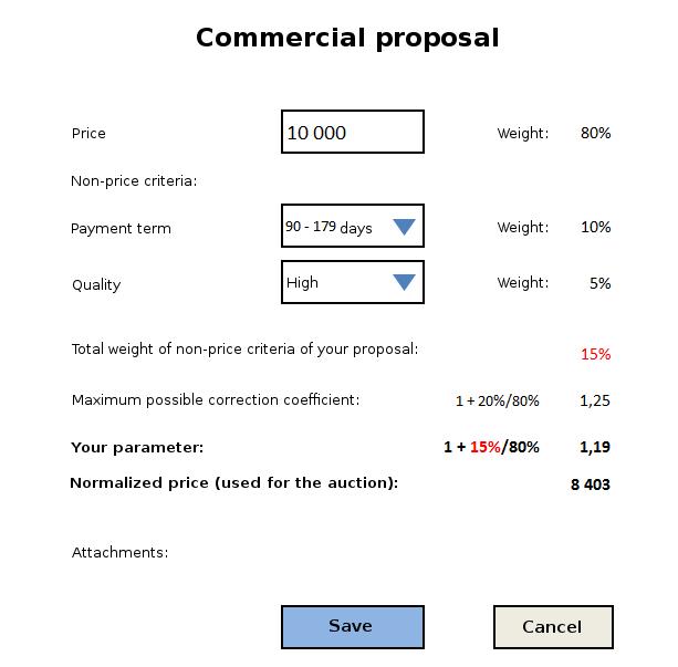 Non-price criteria