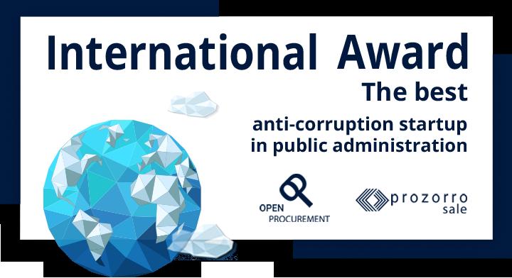 ProZorro.sale wins anti-corruption award